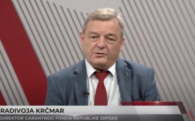 Direktor Garantnog fonda Republike Srpske, Radivoja Krčmar za ATV: Činimo sve da ublažimo posljedice koje je načinila korona