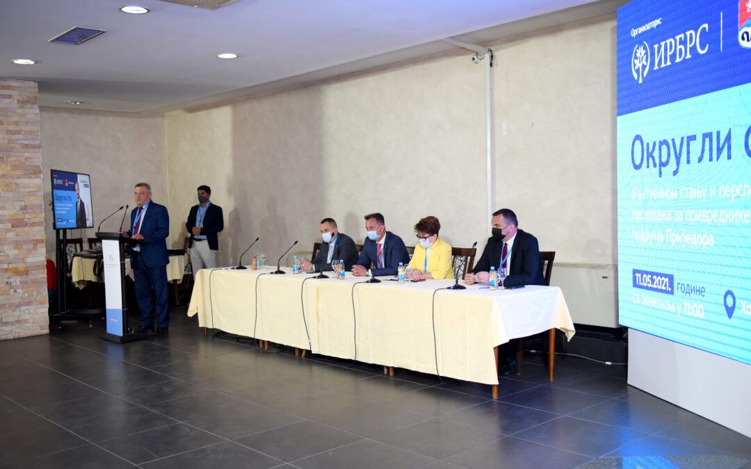 Регионална конференција о стању и перспективама пословања привреде у приједорској регији